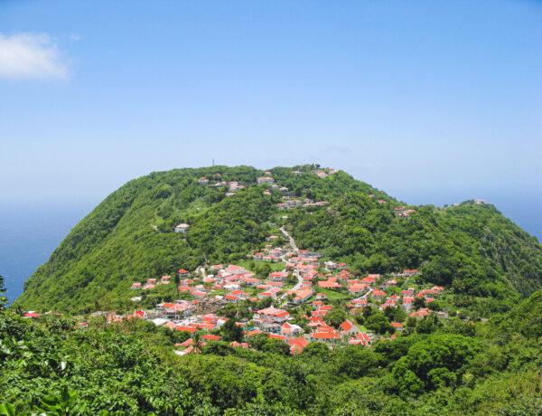 Dorpje Windwardside op Saba, een dagtrip naar Saba The Unspoiled Queen YourTravelReporter.nl