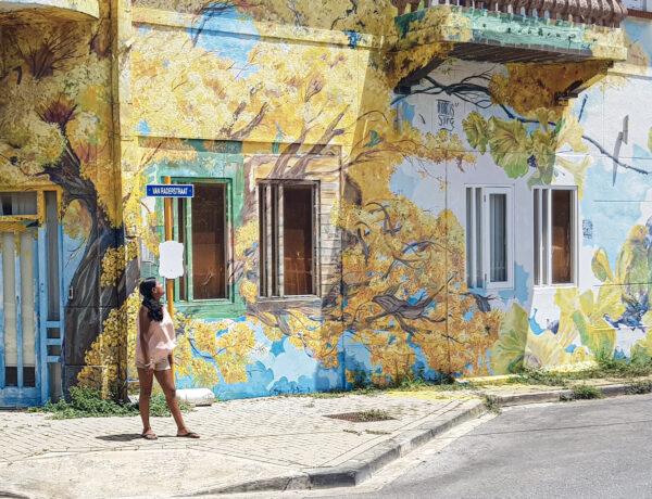 Street art in de wijk Scharloo in Willemstad, Instagram hotspots op Curaçao YourTravelReporter.nl